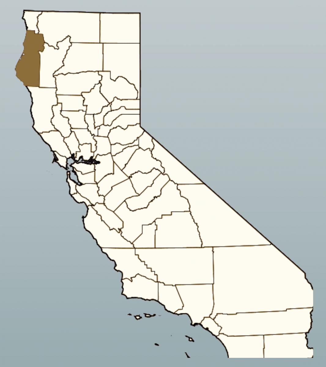 Humboldt County Map